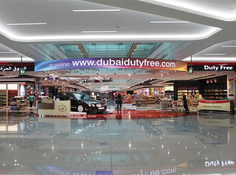 dubai aiprport advertising place
