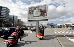 schiphol airport advertising