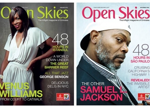 advertising in open skies magazine