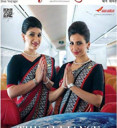 advertising in air india inflight magazine